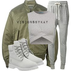 Untitled #576 by kaythefrugalista on Polyvore featuring adidas Originals, James Perse, Timberland, women's clothing, women's fashion, women, female, woman, misses and juniors