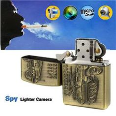 Stylish Coppery Lighter Style Hidden Spy Camera DVR Camcorder with Web Camera $25.39 http://www.geekbuying.com/item/Stylish-Coppery-Lighter-Style-Hidden-Spy-Camera-DVR-Camcorder-with-Web-Camera-302525.html