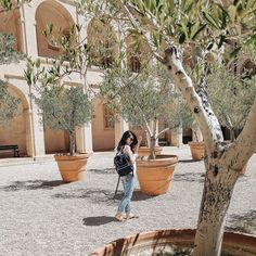 Looking like a Borrower amongst these beautiful olive trees in Marseille  La Vielle Chouette was so beautiful soaked in history. . . #petitejoys #mytinyatlas #wanderlust #lifewelltravelled #traveller #france #marseille #hkgirl #travelgram #mytravelgram #kissfromtheworld #abmtravelbug