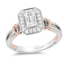 White Diamond Ring, Diamond Stone, Diamond Cuts, Disney Engagement Rings, Diamond Engagement Rings, Emerald Cut Diamonds, White Diamonds, Enchanted Disney Fine Jewelry, Thing 1