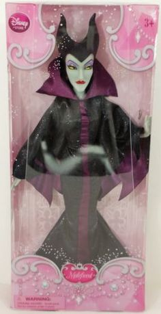 BARBIE-MALEFICENT-DOLL-BY-DISNEY-CLASSIC-COLLECTION-CLOTHES-ACCESSORIES-NEW-BOX