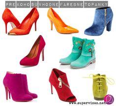 Pre koho sú vhodné výrazné topánky