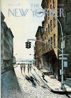 The New Yorker - Monday, October 2, 1978 - Issue # 2798 - Vol. 54 - N° 33 - Cover by : Arthur Getz