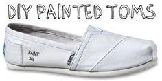 DIY Painted TOMS!