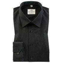 Рубашка черная с длинным рукавом