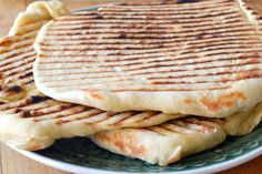 How to Make laffa Bread ~ an easy Middle Eastern flatbread that you can make at home! ~ theviewfromgreatisland.com
