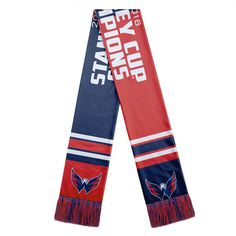 c2c18a1bf Washington Capitals 2018 Stanley Cup Champions Acrylic Scarf – Red