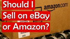 Should I Sell on eBay or Amazon? Ebay vs. Amazon's Fees