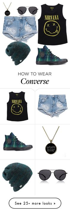 """Untitled #391"" by abigailduff on Polyvore featuring Converse, One Teaspoon, Coal and The Row"