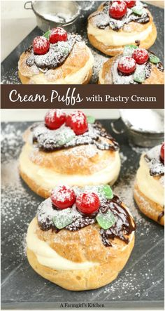 Pastry Recipes, Baking Recipes, Cookie Recipes, Baking Ideas, Pie Recipes, Appetizer Recipes, Appetizers, Mini Desserts, Easy Desserts