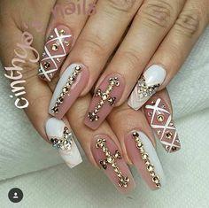 nails, coffin, and nailart image