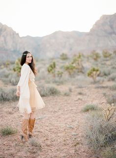 Desert Inspiration Shoot by Gaby J Photography