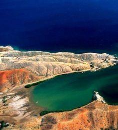 Araya Peninsula, Sucre, Venezuela Aerial View of Coastline of Araya Peninsula in your country Venezuela