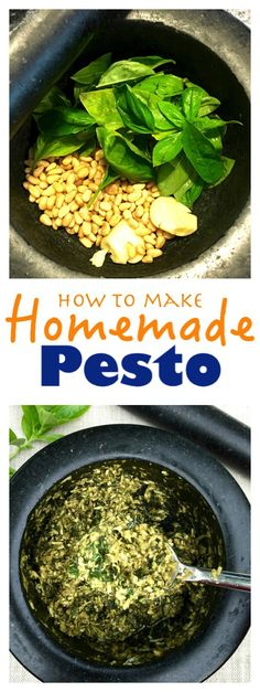 Authentic pesto recipe using a Mortar and Pestle, don't wimp out and use a food processor! Roll up your sleeves and bash your frustrations away. Pesto and therapy. Easy Pesto using a Mortar and Pestle Clean Recipes, New Recipes, Dinner Recipes, Cooking Recipes, Favorite Recipes, Healthy Recipes, Drink Recipes, Amazing Recipes, Cooking Ideas