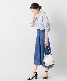 春を満喫しよう!《レーススカート》がかわいい季節がやってきた! - Yahoo! BEAUTY Ss16, Fasion, Capsule Wardrobe, Korea, Knitting, Yahoo Beauty, Midi Skirts, People, How To Wear