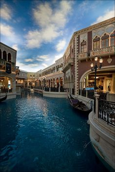 The Venetian Hotel in Vegas - ok NOT Venice but it is the closes thing I have.