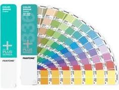 Pantone COLOR BRIDGE® Coated by Pantone. $149.00. Colors bleed for ease and accuracy of checking colors. sRGB and HTML values for solid colors. Chromatically arranged portable fan guide format. Contains all PANTONE Solid Colors, on coated stock. Process matches with CMYK screen tint percentages displayed next to each solid color. Bridge solid PANTONE Colors for process printing or web design. The PANTONE PLUS SERIES COLOR BRIDGE Coated provides process color ...