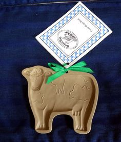 Great for molding cookies, paper, and chocolate! 1986 Cow Brown Bag Cookie Mold with Recipe Book at CurioCabinet, $12.00