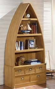 Dinghy Boat Bookcase- A unique, creative take on shelving and storage