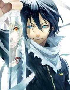 Yukine and Yato    _Noragami