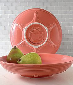 Fiesta Flamingo Presentation Bowl #Dillards 75th Anniversary Exclusive**** I have two of these in LAPIS blue***.
