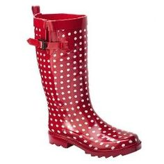 Burberry Women's Check Rubber Rain Boots by Burberry | Shopping ...