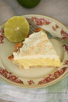 Lime Coconut Cream Pie ... you put de lime in de coconut you (eat) 'em both up.