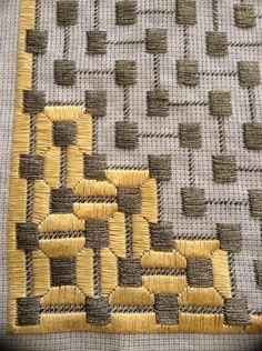 Resultado de imagen para bargello embroidery stitches