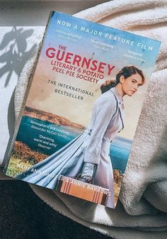 The Guernsey Literary and Potato Peel Pie Society book  Covering dark topics in places, the novel is an uplifting tale about the strength of its characters who continue to support one another and their passion for books throughout the good and bad times of their lives. Mary Ann Shaffer, Potato Peel Pie Society, The Guernsey Literary, Peeling Potatoes, Handwritten Letters, How To Be Likeable, Bad Timing, Feature Film, Great Books