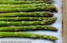 Simple roasted asparagus for your springtime bounty | Fresh Bites Daily