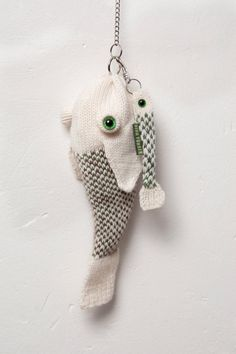 fish bag with keyring fish par Ninafuehrer sur Etsy