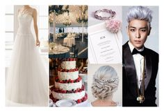 """""""BigBang Aesthetic : wedding"""" by hitthisfeeling ❤ liked on Polyvore featuring Reactor"""