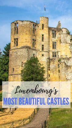 Top castles of Luxem