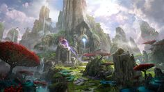 Epic Games - Paragon concept art, James Paick on ArtStation at https://www.artstation.com/artwork/3v42v