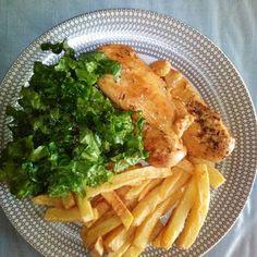 Γρήγορο κοτόπουλο φιλέτο με θυμάρι και λεμόνι #cookpadgreece #kotopoulofileto Sweets Recipes, Meat, Chicken, Food, Essen, Meals, Yemek, Eten, Cubs