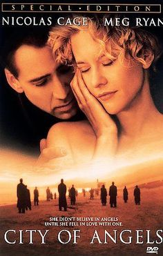 City of Angels DVD (1998) Nicolas Cage • Meg Ryan • Andre Braugher •Dennis Franz