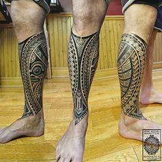 tatouage polynesien and Norse tattoo: samoa hawaii tatouage montreal Leg Band Tattoos, Tattoos Masculinas, Full Leg Tattoos, Irezumi Tattoos, Forearm Tattoos, Tattoos For Guys, Marquesan Tattoos, Polynesian Tattoo Sleeve, Polynesian Tattoo Designs