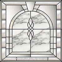 bevel stained glass 23B Decorative Window Film