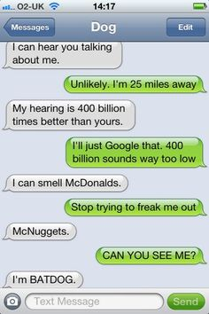 funny, funny pictures, funny photos, funny texts, dog, funny dogs, 10 Funniest Texts from Dog