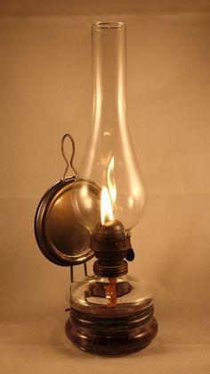 Antique Oil Lamps, Vintage Lamps, Lamp Light, Light Up, Old Lanterns, Kerosene Lamp, Retro, Still Life, Ancient History