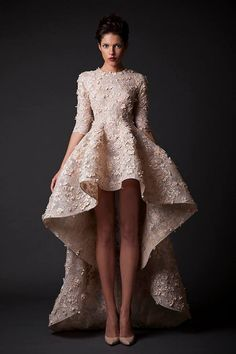 KRIKOR JABOTIAN 2015 | AMAL - the cut and drape of this dress are amazing!