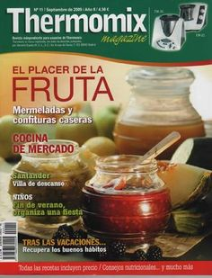 Revista thermomix nº11 el placer de la fruta