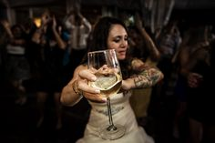 Artistic Reception Moment of Wedding. Captured by talented photographer Jacklyn Greenberg