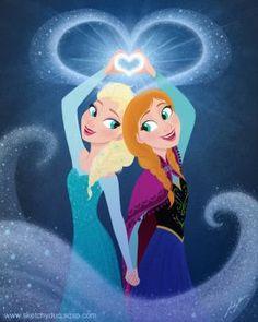 Here's my first Disney princess fan art since the This was long overdue. Elsa and Anna Frozen Fan Art, Frozen Film, Disney Frozen, Frozen 2013, Anna Frozen, Disney Magic, Walt Disney, Cumpleaños Lady Bug, Elsa Drawing