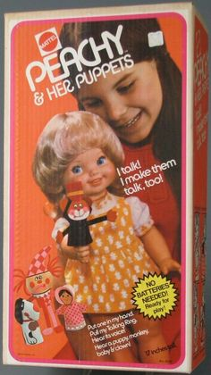 Peachy from Mattel -This is some Russian nesting doll shit going on. You play with a doll who is playing with puppets.