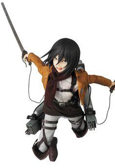 Attack on Titan RAH Figur 1/6 Mikasa Ackerman 30 cm  Attack on Titan - Hadesflamme - Merchandise - Onlineshop für alles was das (Fan) Herz begehrt!