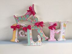 A personal favourite from my Etsy shop https://www.etsy.com/uk/listing/266958718/decorated-fairy-wooden-letters