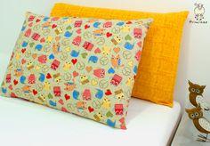 Duas fronhas fofas, que juntas, mudam a decoração da sua cama!