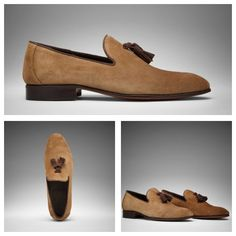 Our new collection is online! Check out Fabio this amazing khaki suede Tasselloafer #scarosso -> http://bit.ly/14RXN8Q