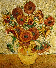 sunflowers in a vase - Google Search